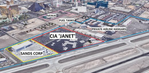 CIA JANET Vegas airport shooting