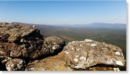 The Grampians.