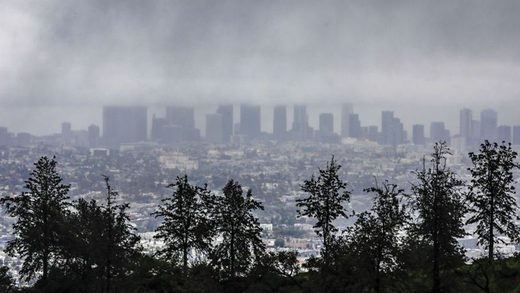 Latest Winter Downpour Brings Record Rainfall to Downtown L.A.