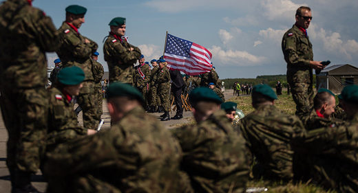 Poland us army