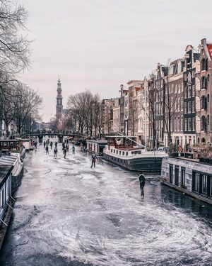 Global warming comes to Amsterdam