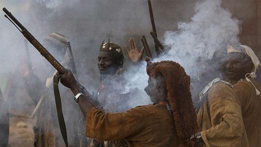 dogones Mali tribe dogons hunters