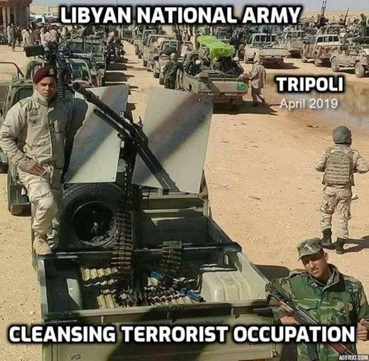 Libyan national army LNA Tripoli