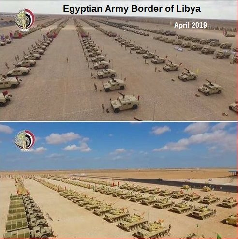 egyptian army libya tanks