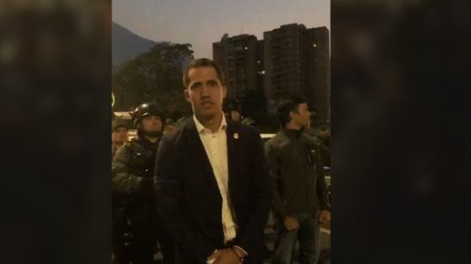 guaido coup attempt video