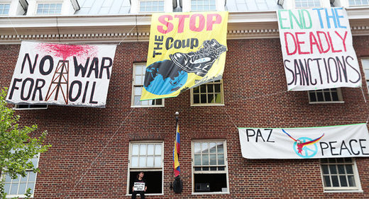 activists venezuela embassy Washington