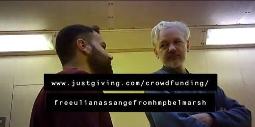 assange belmarsh prison