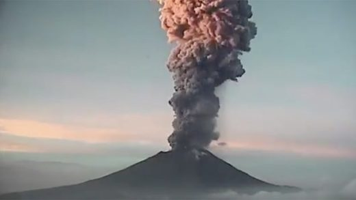 Mexico's Popocatépetl volcano eruption