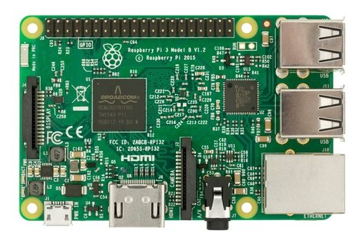 Raspberry Pi microcomputer