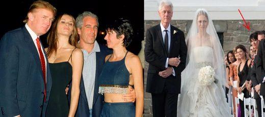 Epstein, Clinton, Trump