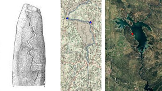 Ángel Castaño, redescubridor del dolmen de Guadalperal, cree haber descubierto uno de los mapas más antiguos de mundo. El hallazgo debe ser confirmado por expertos y Junta de Extremadura y Gobierno se reúnen.