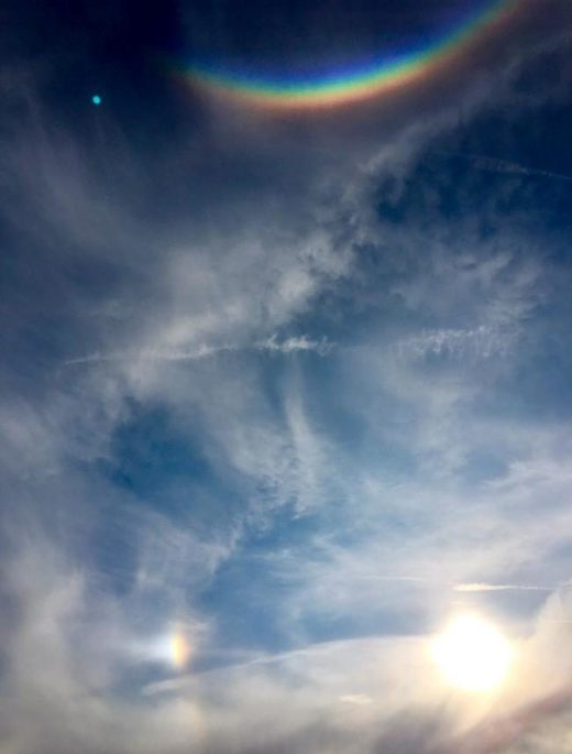 circumzenithal arc over brighton