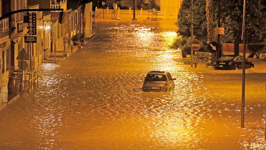 inundaciones flooding spain