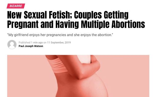 abortion fetish
