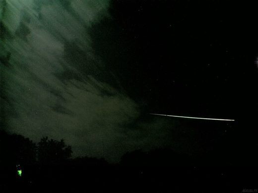Fireball over NE US