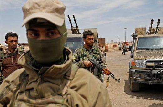 Miembros de las Fuerzas Democráticas Sirias (SDF)
