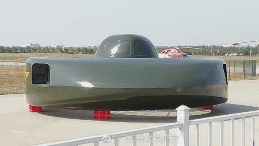 Presentan en China un nuevo 'ovni' militar