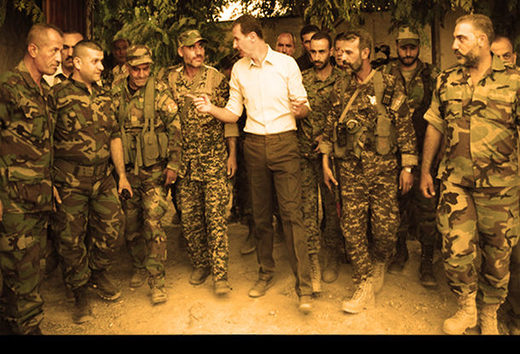 Assad syrian soldiers