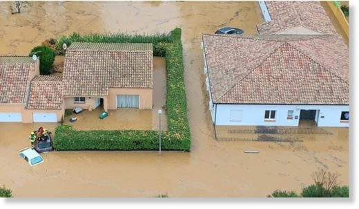 Flooding this week devastated the southern French town of Béziers