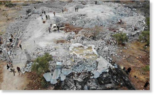 syria al baghdadi site