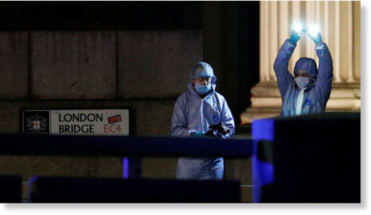 London bridge attack 2019