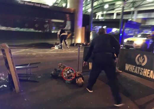 sucide vest london bridge stabbing