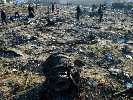 Iran Flight 752 Ukrainian plane