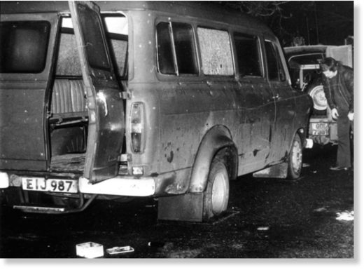 Kingsmill massacre bus