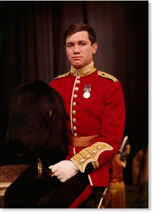 Captain Robert Nairac of the Grenadier Guards, later a British Army death squad commander in Ireland during the 1970s