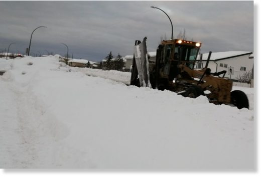 All city snow-clearing equipment,