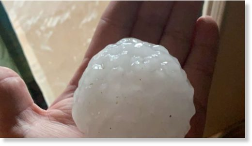 2020 Major Hail in San Angelo May 21, 2020.