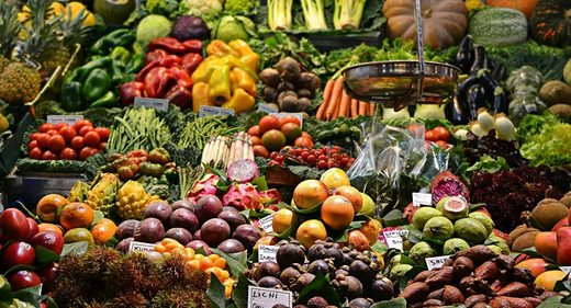 Viveres fruites vegetables