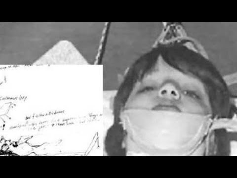 A young girl subjected to  MKULTRA experiments