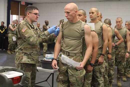 us soldiers vaccinations
