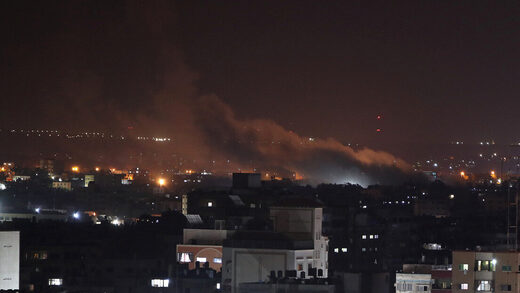 Gaza israel bombing