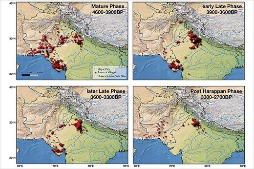 indus valley settlements