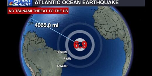 Mid Atlantic ridge quake