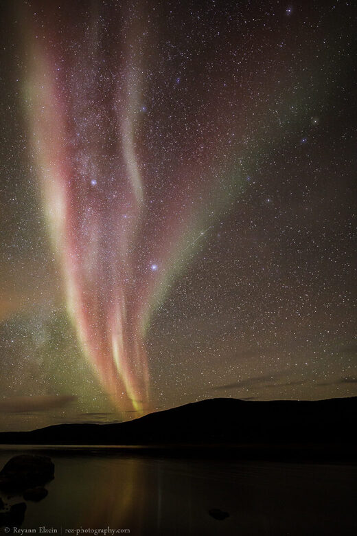 Red Auroras on October 12, 2020 @ Utsjoki, Finnish Lapland
