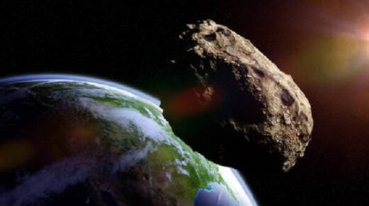 Asteroid headed towards Earth