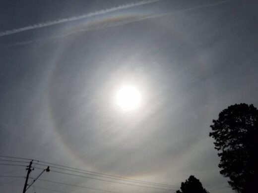 Sun halo Alabama