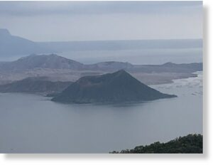 Taal Volcano (taken October 26, 2020).