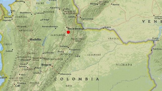 earthquake colombia