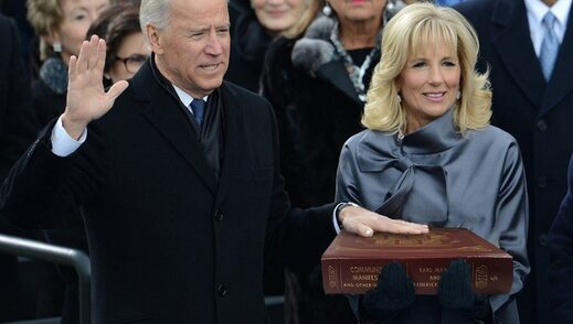 biden swear in communist manifesto