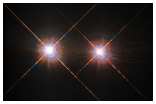 An image of Alpha Centauri