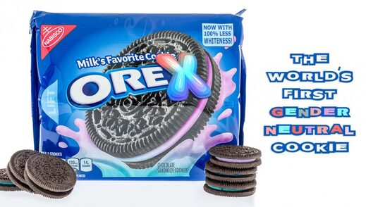 gender neutral oreo cookies