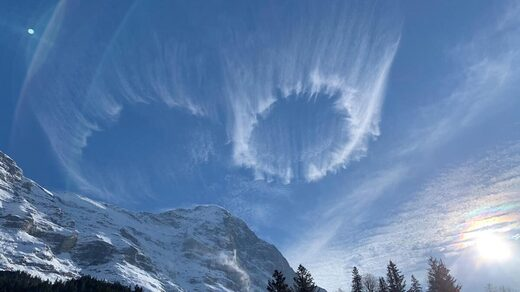 circle cloud alps
