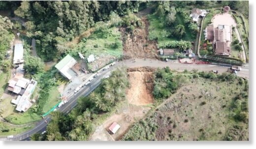 Landslide Antioquia, Colombia, March 2021