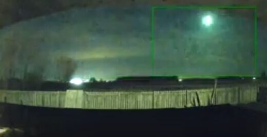 Meteor fireball over Ohio
