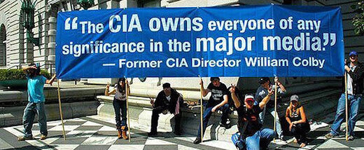 colby cia media protest