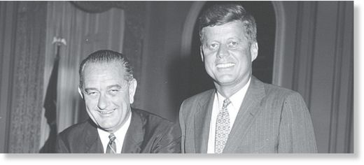 Johnson y Kennedy